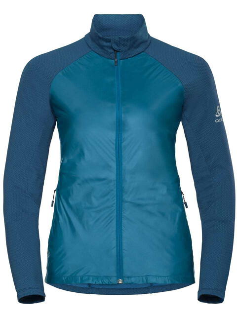 Odlo Velocity Element Light Jacket Women turkish tile-poseidon
